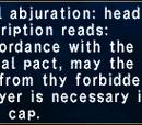Neptunal Abjuration: Head