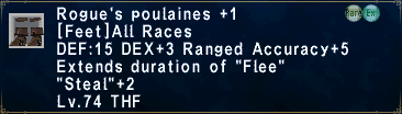 Rogues Poulaines Plus 1