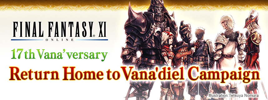 17th vanaversary return home campaign
