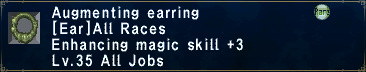 Augmenting Earring