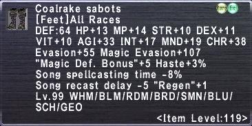 Coalrake Sabots