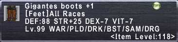 Gigantes Boots +1