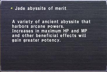 Jade abyssite of merit