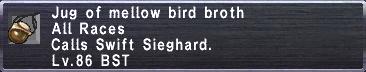 Mellow Bird Broth