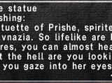 Prishe Statue