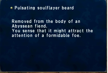 Pulstating soulflayer beard