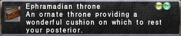 Ephramadian Throne