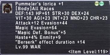 Pummeler's Lorica +1