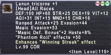 Lanun Tricorne Plus 1