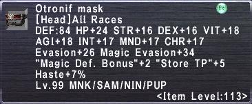 Otronif mask