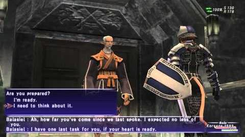 «FFXI-Movie» 0074 PLD 3 - A Knight's Test
