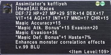 Assimilator's Keffiyeh