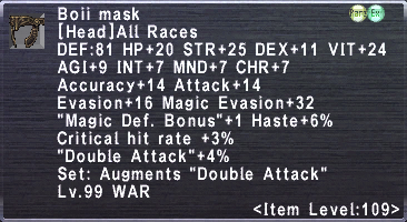 Boii Mask