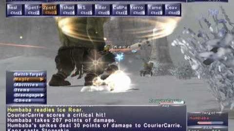 FFXI NM Saga 177 Humbaba vs BST Full Battle