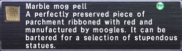 Marble Mog Pell