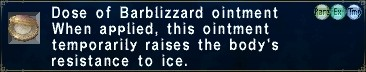 Barblizzard Ointment