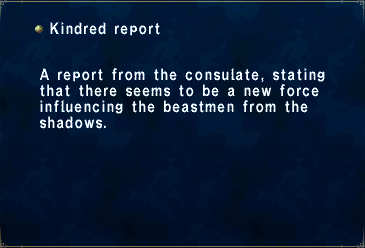 Kindred Report