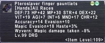 Pteroslaver finger gauntlets