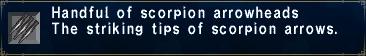 Scorpion Arrowheads