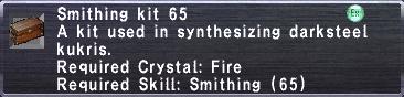 Smithing Kit 65