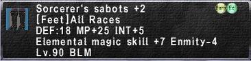 Sorcerer's Sabots +2