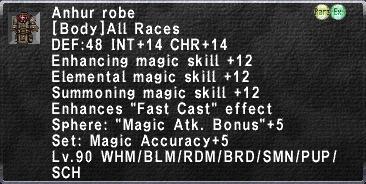 Anhur Robe