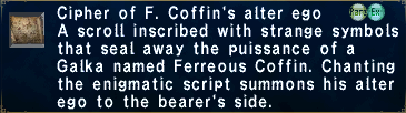 Cipher F. Coffin