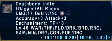 Deathbone Knife