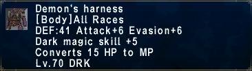 Demons Harness