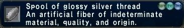 Glossy Silver Thread