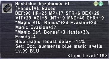 Hashishin Bazubands +1