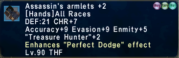 Assassin'sArmlets +2-1