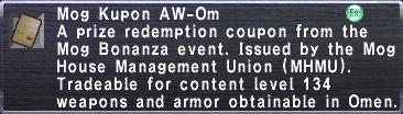 Kupon AW-Om