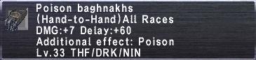PoisonBaghnakhs
