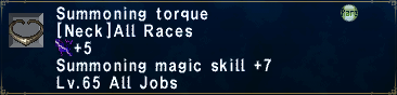 Summoning Torque