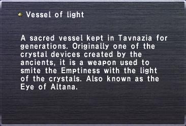Vessel of Light (Key Item)