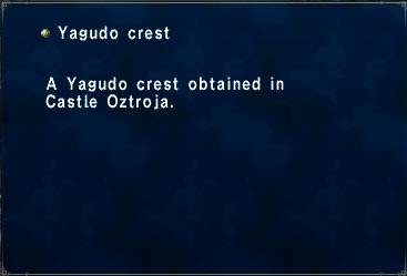 Yagudo Crest