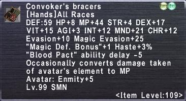 Convoker's Bracers