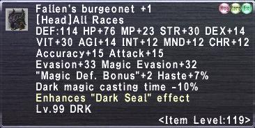 Fallen's Burgeonet Plus 1