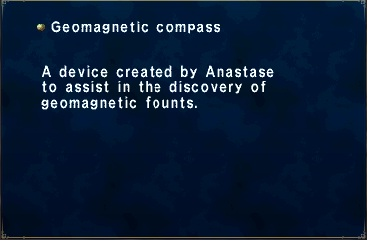 Geomagnetic Compass