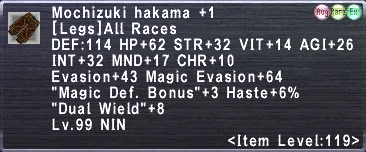 Mochizuki hakama plus 1