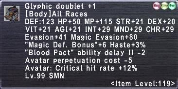 Glyphic Doublet +1