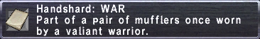 Handshard WAR