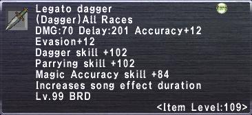 Legato Dagger