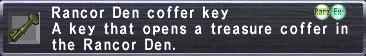 Den Coffer Key