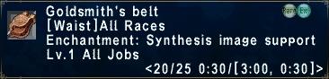 Goldsmiths Belt