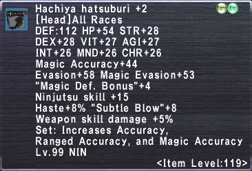 Hachiya Hatsuburi +2