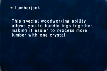 Key Item Lumberjack