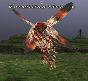 Vermillion Fishfly