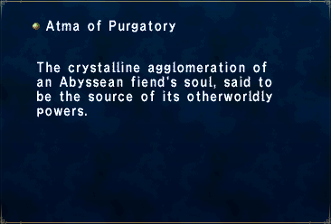 Atma of Purgatory